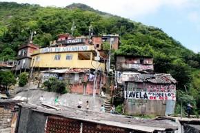Favela Santa Marta, Botafogo, Rio de Janeiro, Brasil